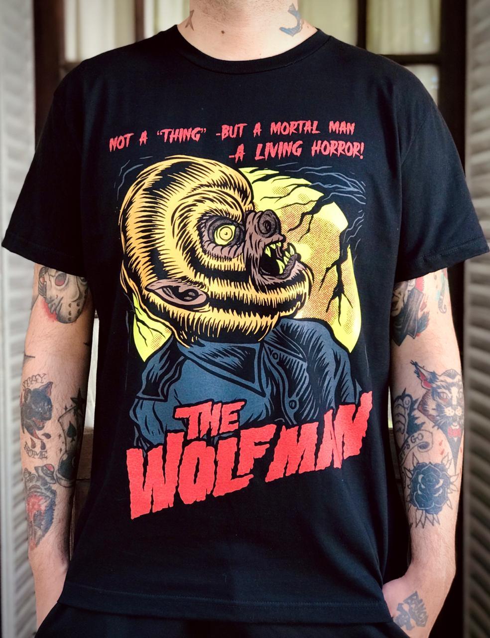 Remera The wolf man